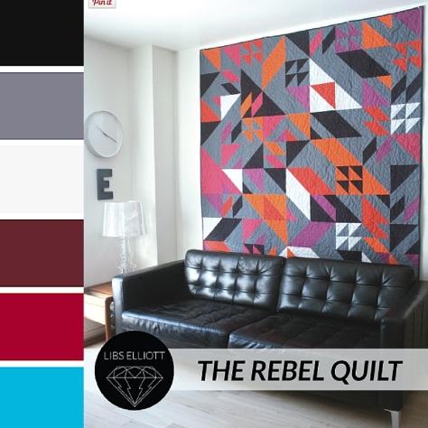 Maker May Week 1 Libs Elliott Rebel Quilt