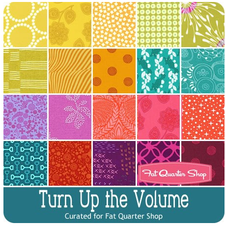 turn up the volume bundle for fat quarter shop