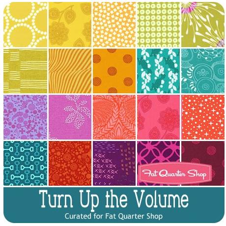 turn up the volume bundle for fat quarter shop