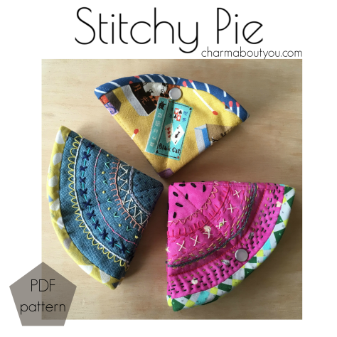Stitchy Pie Cover - Charm About You