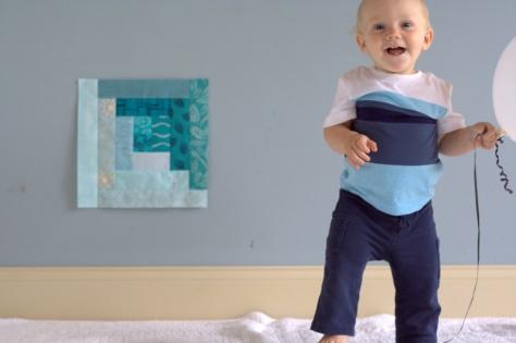 finn milestone quilt 12 months full quilt