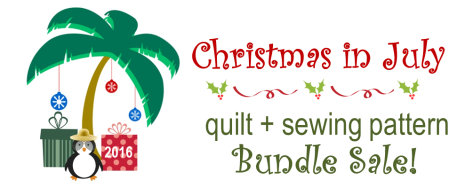 christmas in july Bundle Sale Header