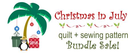 christmas in july Bundle Sale Header