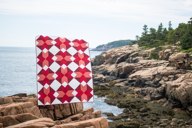 Yvonne Fuchs quilt in Quilters Planner 2017