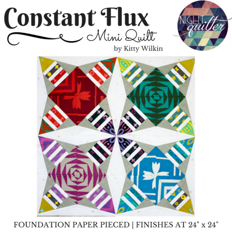 constant flux pattern cover