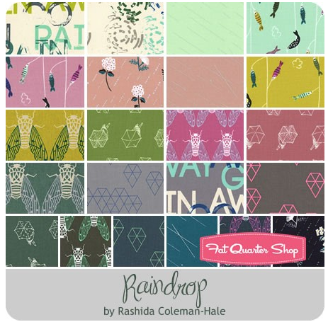 raindrop fat quarter bundle giveaway cotton + steel