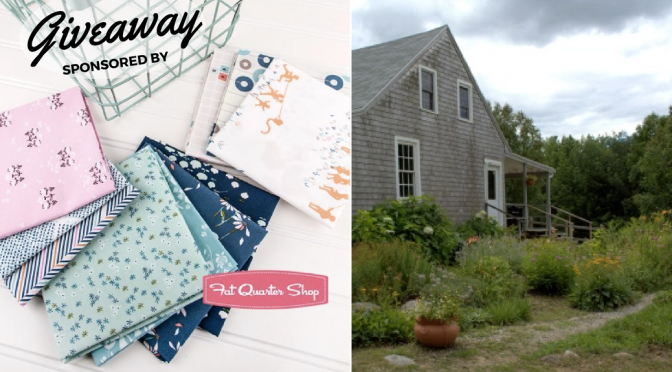 Monday Giveaway & Off to Slow Stitching