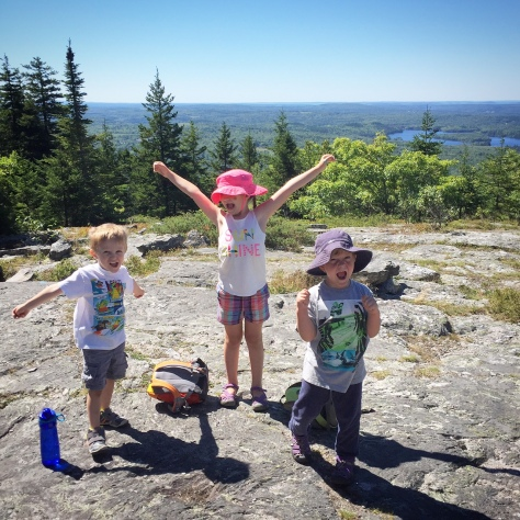 hiking Blue Hill Mountain Maine