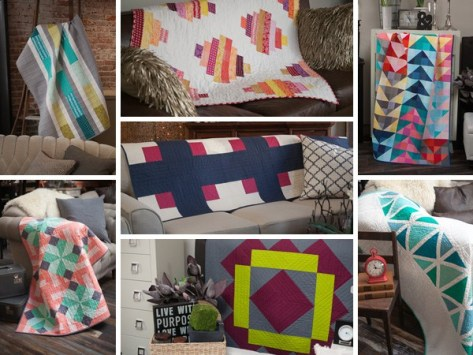 Quilt Theory pattern mosaic