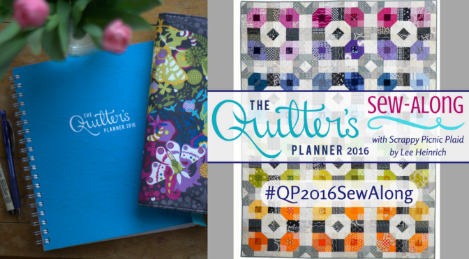 Quilter's Planner 2016 Sew-Along Kick-Off!