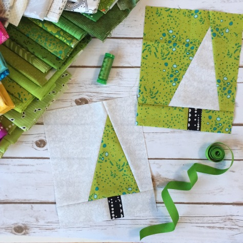 greenery color palette sew alongs 2017
