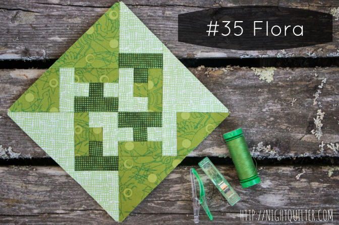 Farmer's Wife Sew Along – Block 35 Flora Tutorial