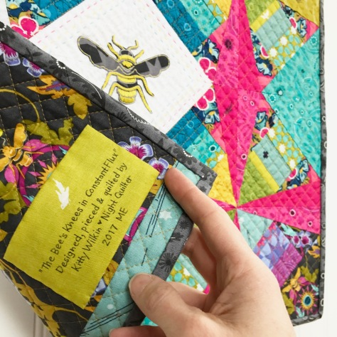 label your quilts!