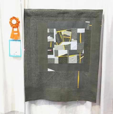 canary meets gold mine by stephanie ruyle spontaneousthreads quiltcon 2017