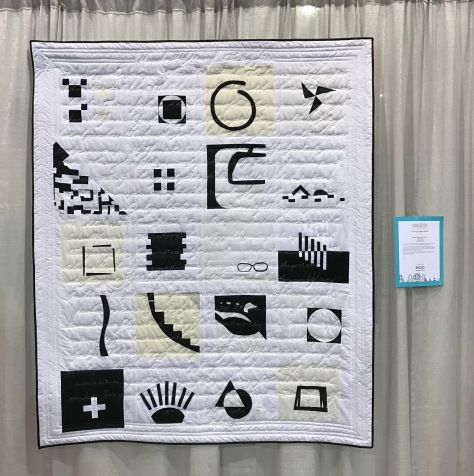 minimalism with meaning: the story of us by hillary goodwin beesewcial quiltcon 2017