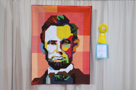 abe lincoln quilt quiltcon 2017