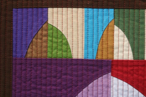 arches modern quilt quiltcon 2017