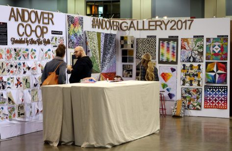 Andover Booth Quilt Con 2017
