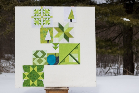 greenery quilt 2017 nightquilter