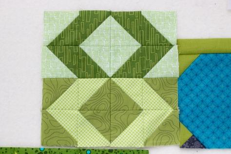 patience corners sewcial sampler greenery