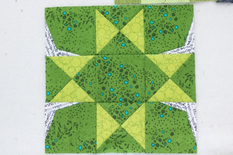 Double Edged Star by Amy Garro quilter's planner
