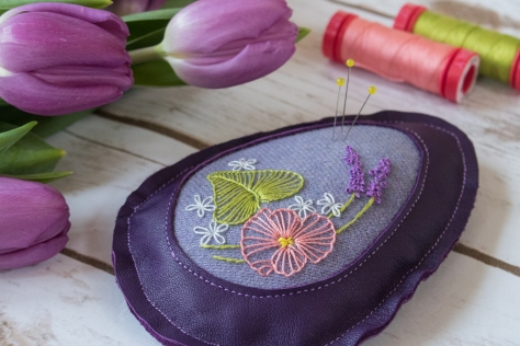 easter egg pincushion tutorial by hillary and kitty