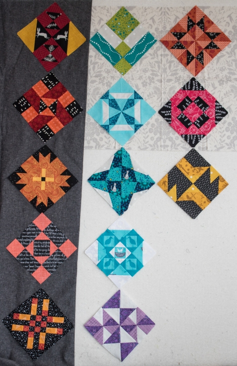 smaller quilt same layout plan