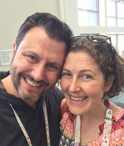 mathew and kitty at quilt con 2017