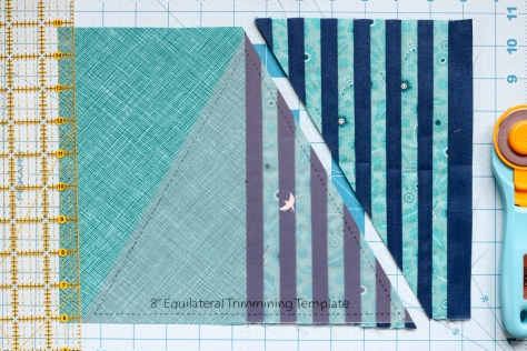 block construction modern triangle blog hop book tour