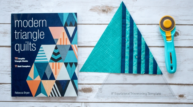 Modern Triangle Quilts Blog Tour