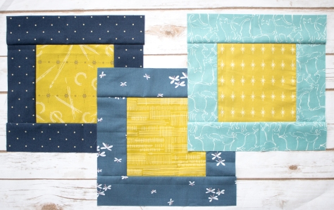 square in a square charity quilt blocks