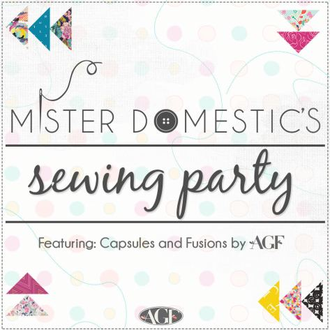 Mister Domestic Sewing Party