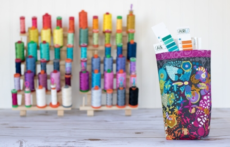 Fabric bin finished 1 tutorial aurifil