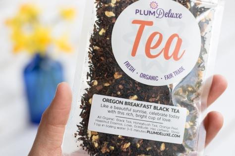 plum deluxe tea package ingredients
