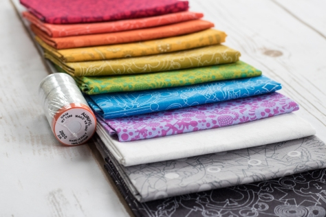 staggered quilt theory release giveaway alison glass fabric aurifil thread