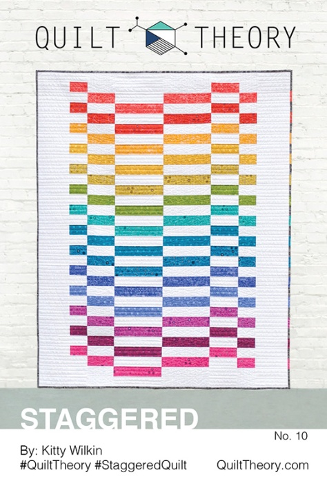 No. 10 - Staggered kitty wilkin quilt theory pattern