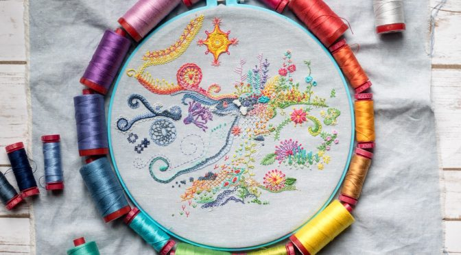 One Year of Stitches: May