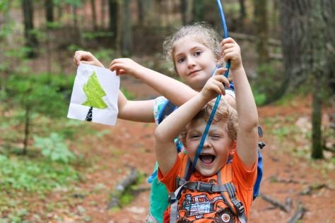 birdsacre trails ellsworth maine silly kids