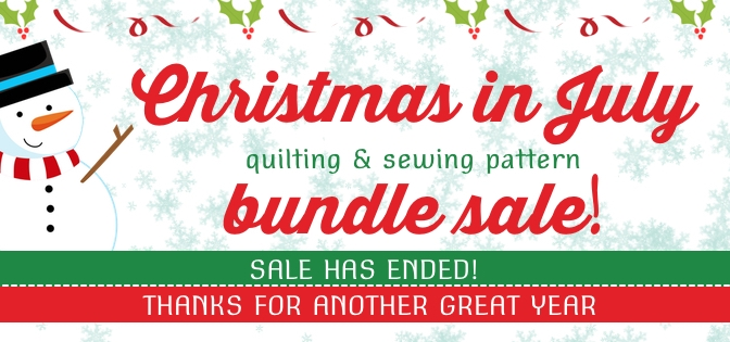 Christmas in July Pattern Bundle Sale – 72 Hours Only!
