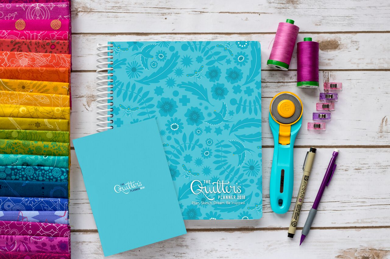2018 Quilters Planner and mini-hi res