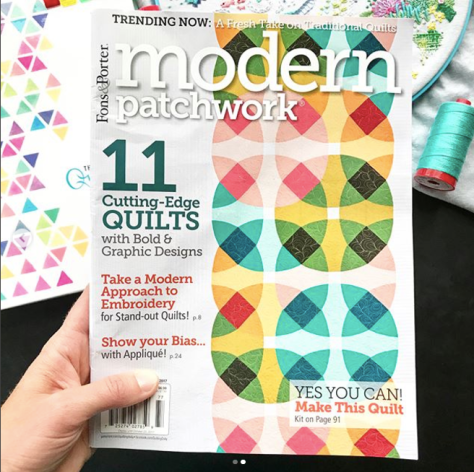 modern patchwork magazine fall 2017