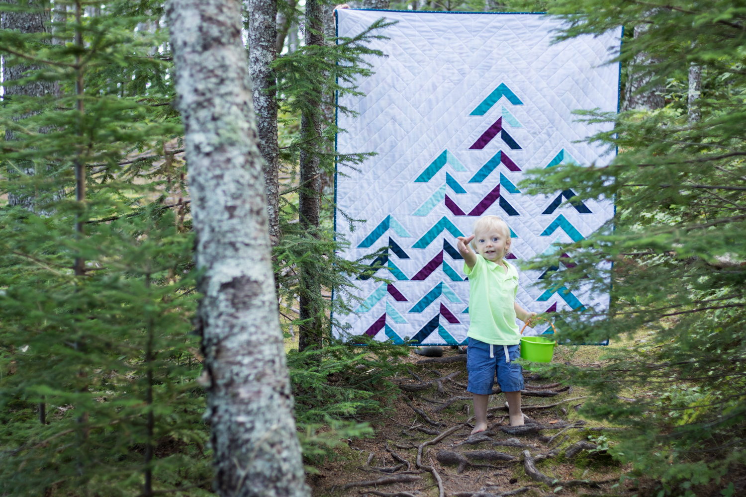 quilt photography with kids