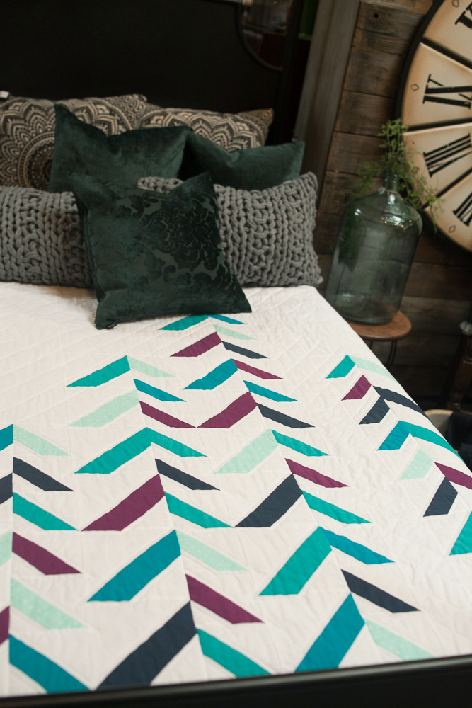 into the forest quilt urban cashmere