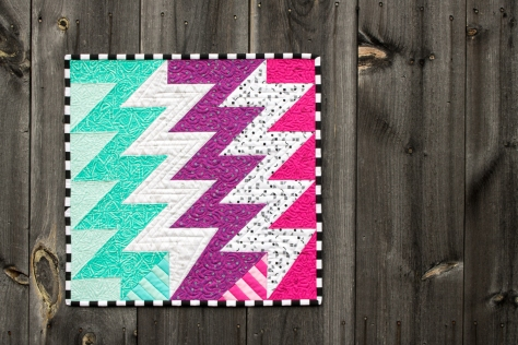 superbolt mini quilt panache fabric