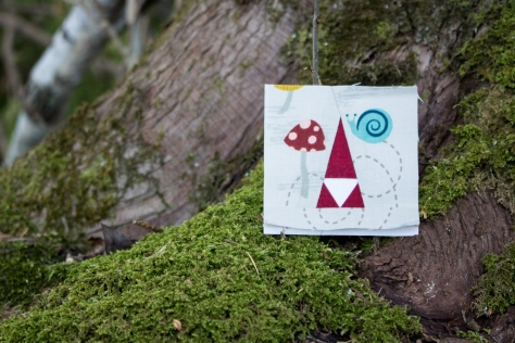 tiny tomte foundation paper pieced pattern moss and lotus