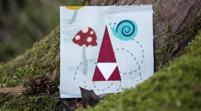 A Tiny Bit of {Tomte} Stitching