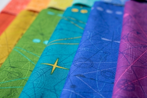 alison glass sun print 2018 rainbow compass