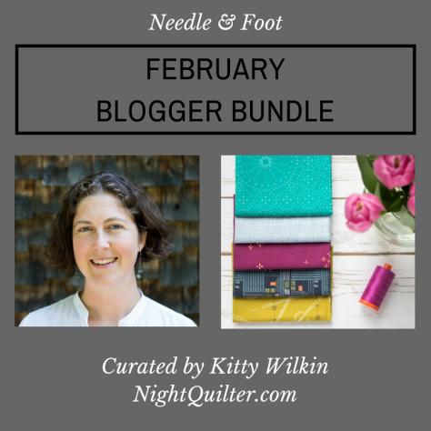 february blogger bundle needle and foot