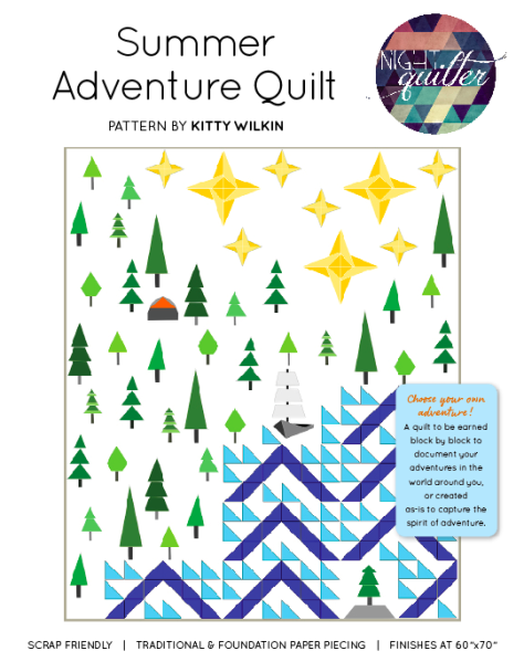 summer adventure quilt pattern