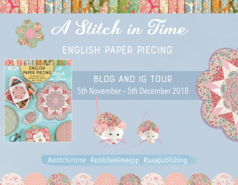 a stitch in time book and blog tour sharon burgess
